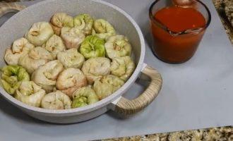 готовим соус для голубцов